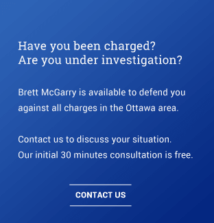 Ottawa's best criminal defence lawyer - Free consult. Have you been charge? Are you under investigation? Brett his available to defend you against all charges in the Ottawa area and Ontario. Contact Brett McGarry, your Ottawa Criminal Defence Lawyer. 613-884-8576